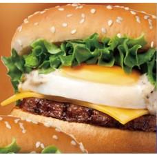 Egg & Cheese Burger