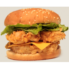Mega Chicken Fillet Burger